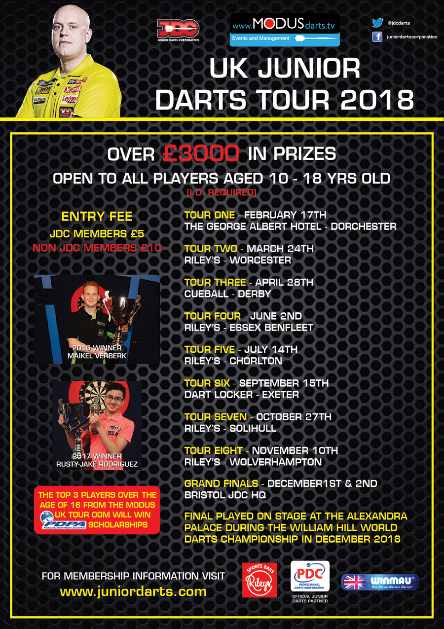 UK DARTS TOUR